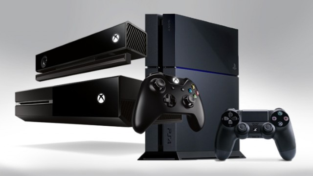 Consoles Xbox and Playstation, the original image belongs to ExtremeTech. https://www.extremetech.com/gaming/156273-xbox-720-vs-ps4-vs-pc-how-the-hardware-specs-compare