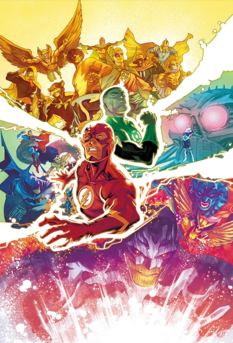 Justice League #31 Cover, Drawn by Francis Manapul. Property of DC Comics Publication 2019©