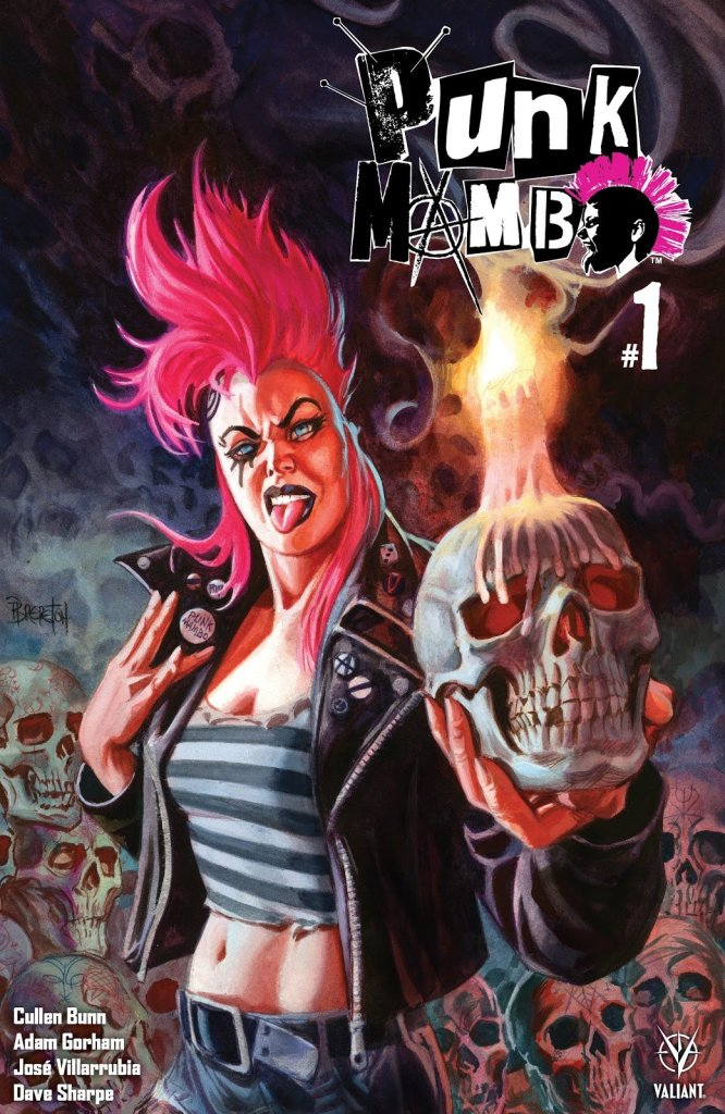 Punk Mambo #1 Cover, Valiant Comics