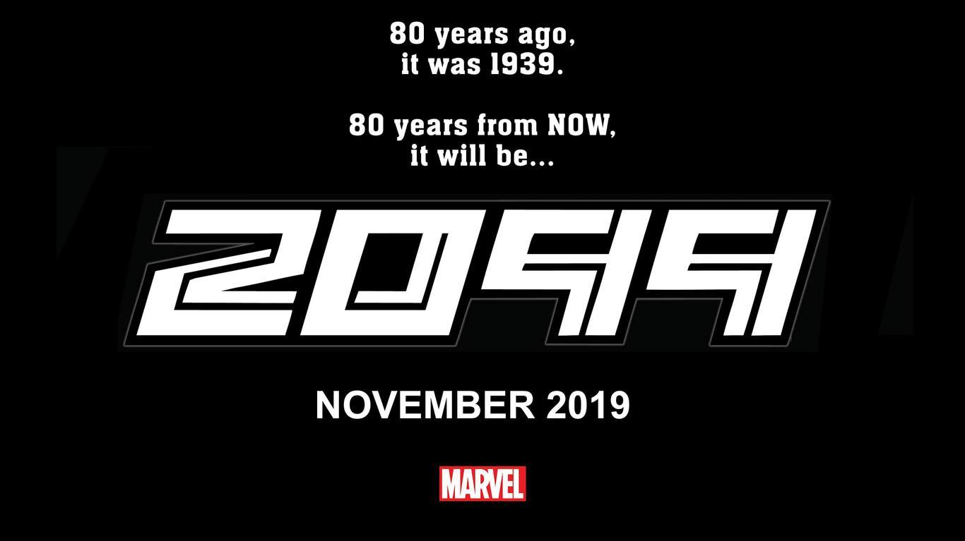 Great Scott!! You're Traveling into 2099! Thanks to Marvel!   ©Marvel 2019
