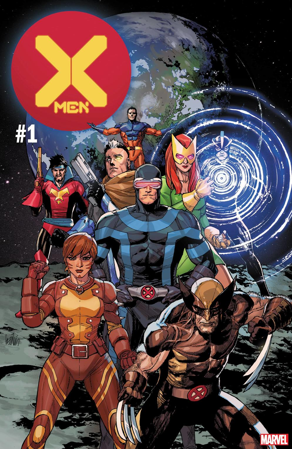 Jonathan Hickman brings forth the X-Men back into the spotlight  Credit: Stan Lee, Jack Kirby, Chris Claremont, Robert Liefield  ©Marvel Comics 2019