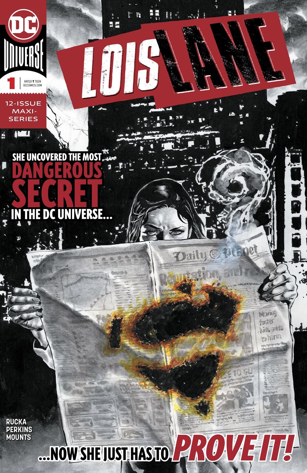Lois Lane Cover   Credit: DC Comics, Jerry Siegel, Joe Shuster