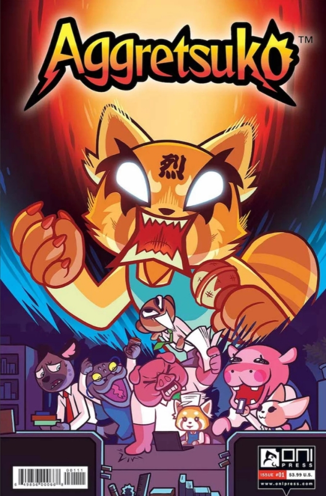 Aggretsuko-Issue-1