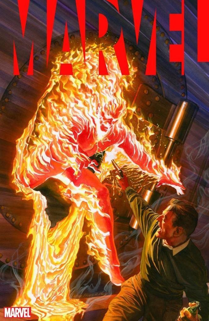Marvel Anthology Cover