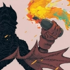 New Unsolicited Variant Cover For Dark Knight: Golden Child unveiled