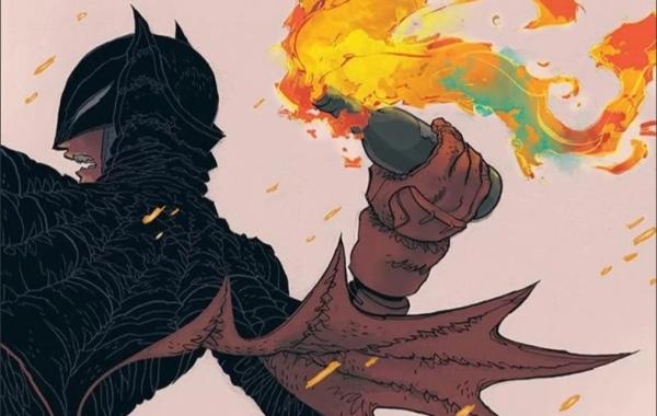 The Dark Knight Returns: The Golden Child Banner