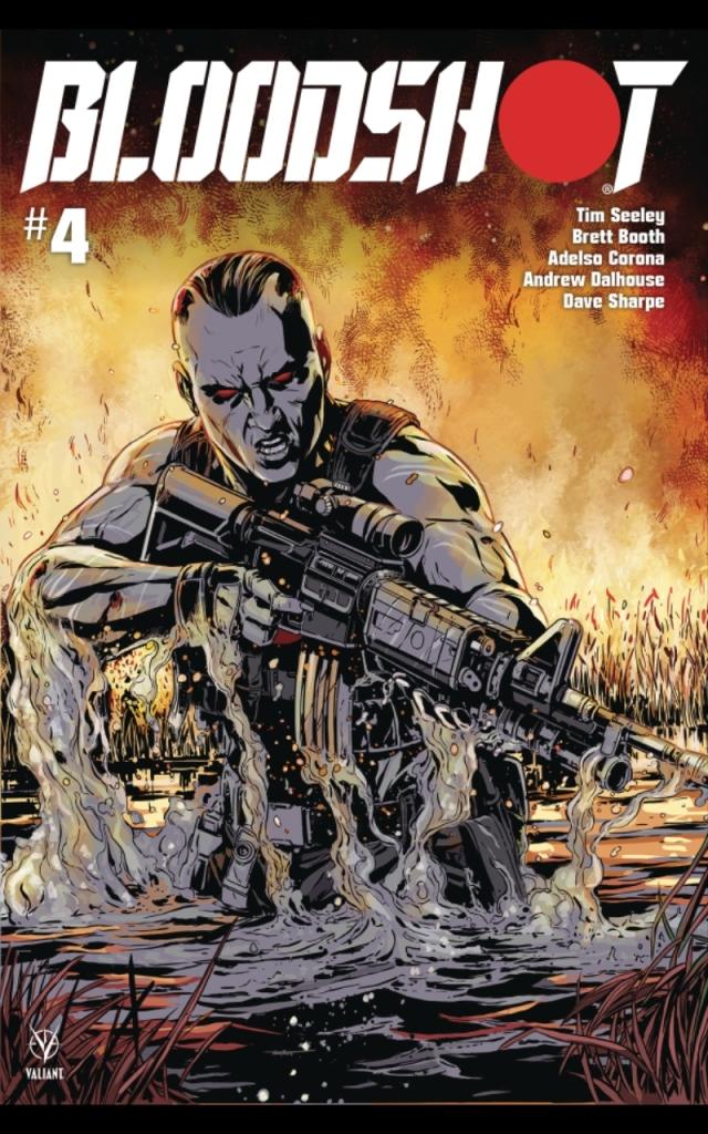 Bloodshot #4 Cover