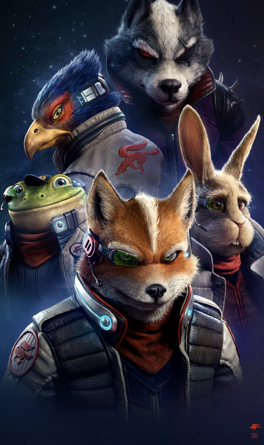 Star-Fox Characters