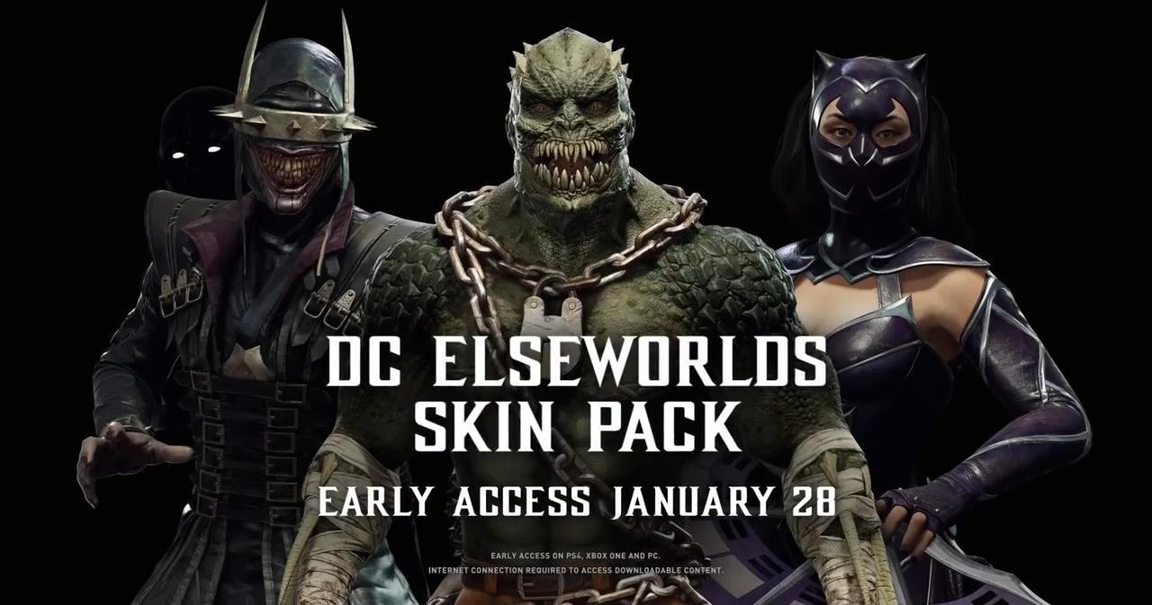 DC DLC Skins
