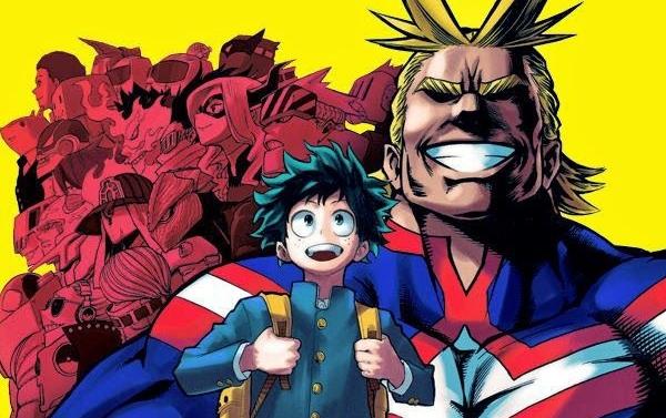 My Hero Academia-Vol-1
