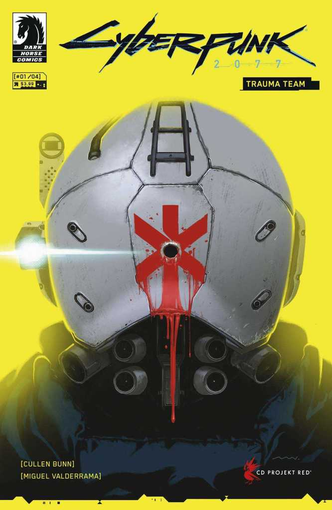 Cyberpunk 2077: Trauma Team #1 Cover
