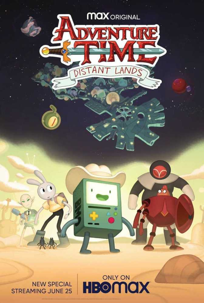 Adventure Time: Distant Lands- BMO Promotional Image