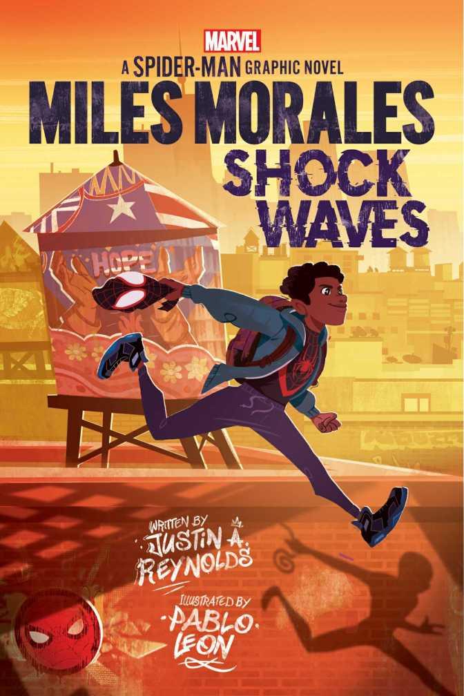 Miles Morales: Shockwaves Cover