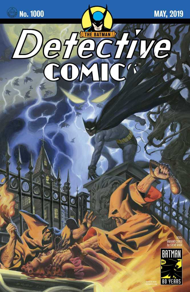 Detective Comics #1000 Cover-Steve Rude