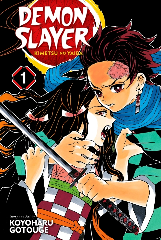 Demon Slayer Volume One Cover