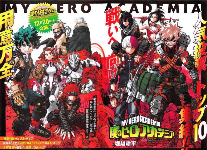 My Hero Academia Chapter 254 Spread