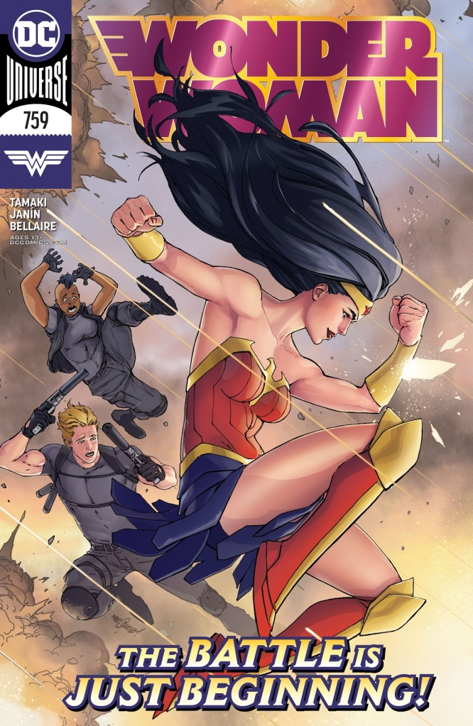 Wonder Woman #759 Cover
