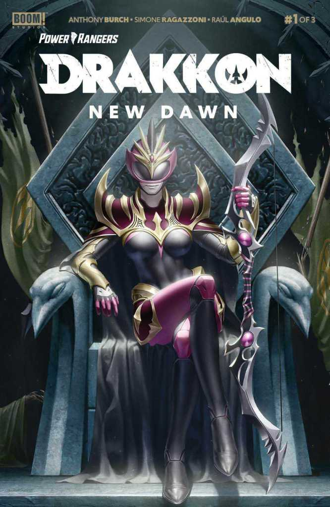 Power Rangers: Drakkon New Dawn #1 Cover