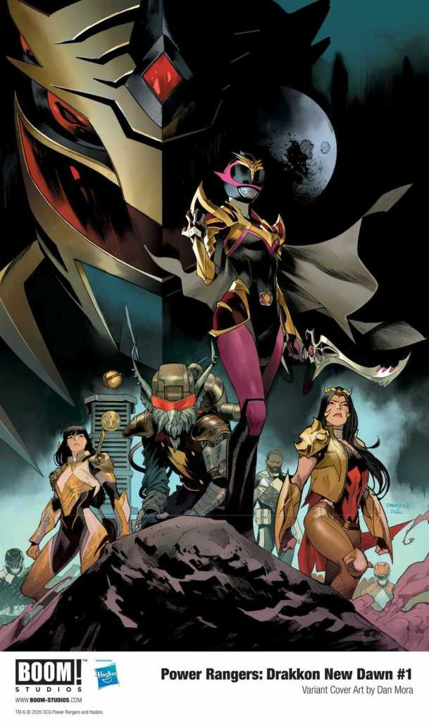 Power Rangers Drakkon New Dawn #1 Cover C Variant