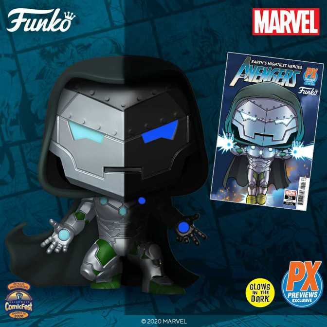 HCF 2020 Exclusive: POP Marvel Infamous Ironman PX Figure