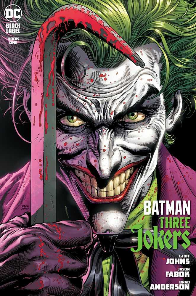 Batman: The Three Jokers Book One Cover