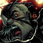 Eddie Brock is ready to attack in Ryan Stegman's Venom #28 Cover