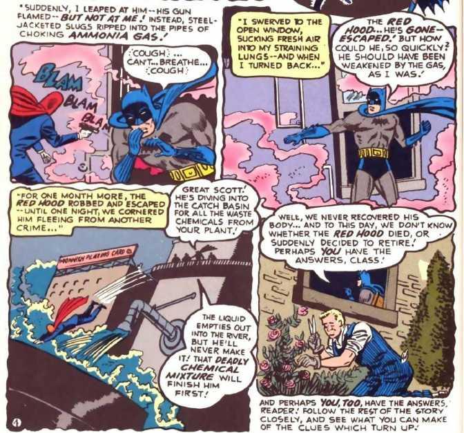 Detective Comics #168 Panel