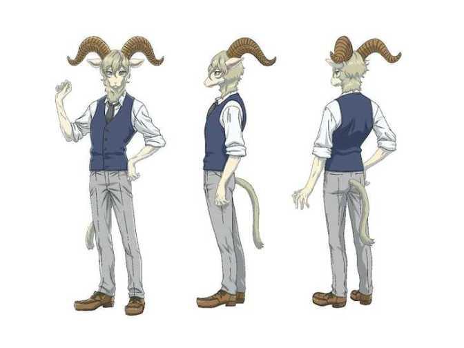 Pina- Beastars Season Two Character Reference