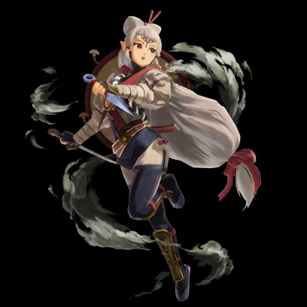 Impa-Hyrule Warriors Age of Calamity Visual 1