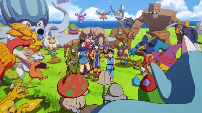 Dragon Quest: Adventure of Dai Promotional Image