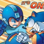 Sonic the Hedgehog/Megaman: When Worlds Collide Part One, Volume One: The Blue Bomber vs. The Fastest Thing Alive!