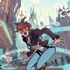 Overwatch: Tracer- London Calling Issue One: Learning more about the popular speedster hero