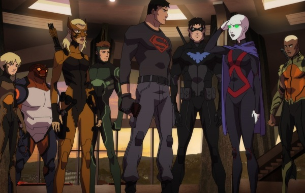 Young Justice Season Three Visual