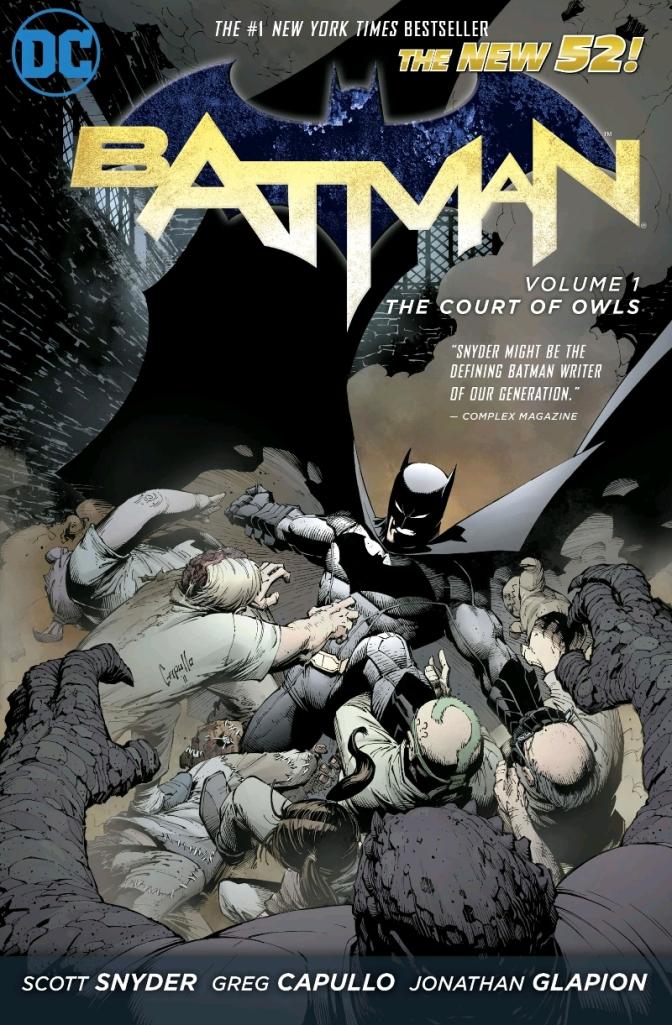 Batman Court Of Owls Cover