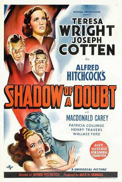 Shadow of a Doubt Film Poster