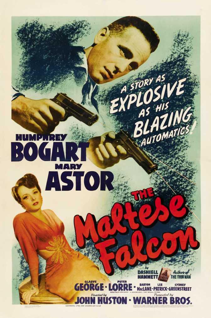 The Maltese Falcon Film Poster