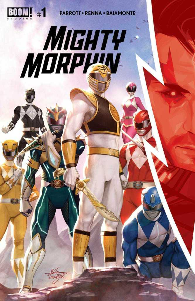 Boom! Studios Mighty Morphin #1 In-Hyuk Lee Cover