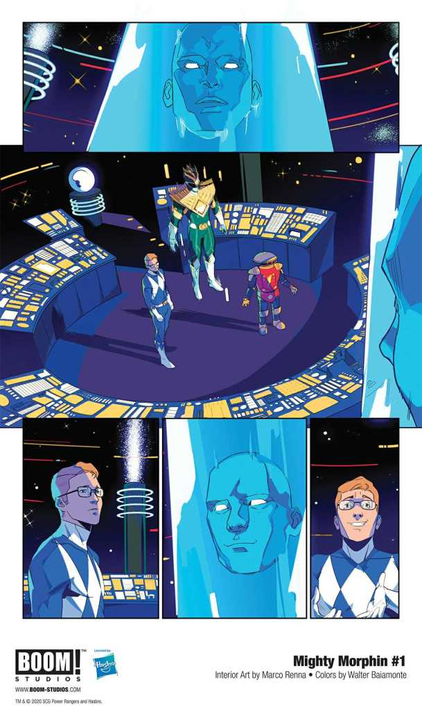 Boom! Studio Mighty Morphin Page Preview 1