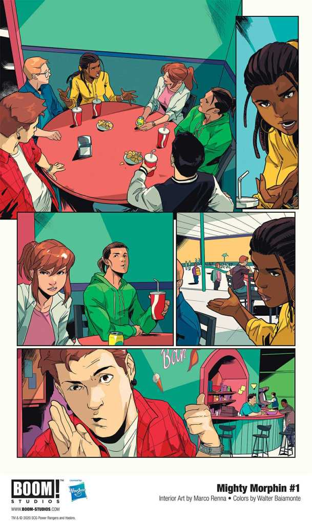 Boom! Studio Mighty Morphin Page Preview 2