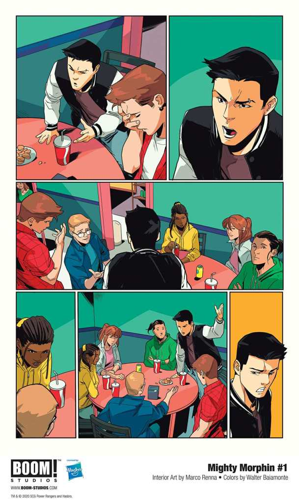 Boom! Studio Mighty Morphin Page Preview 3