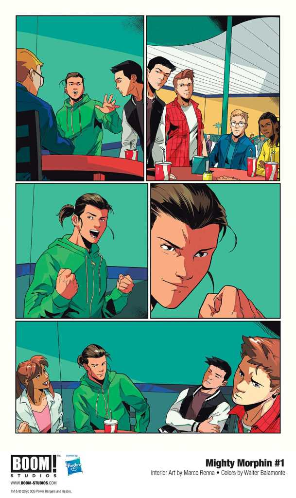 Boom! Studio Mighty Morphin Page Preview 4