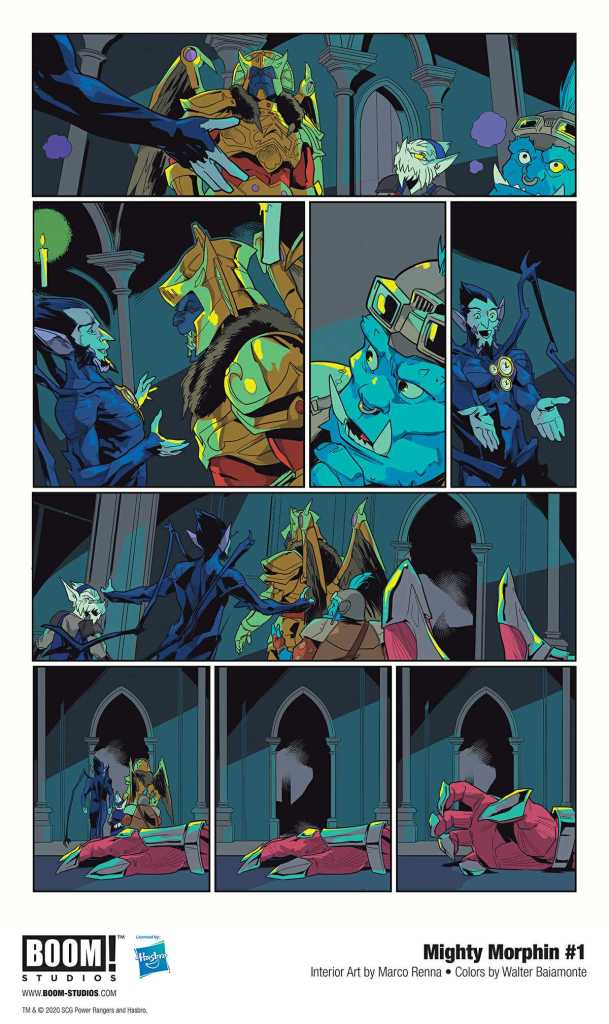 Boom! Studio Mighty Morphin Page Preview 5