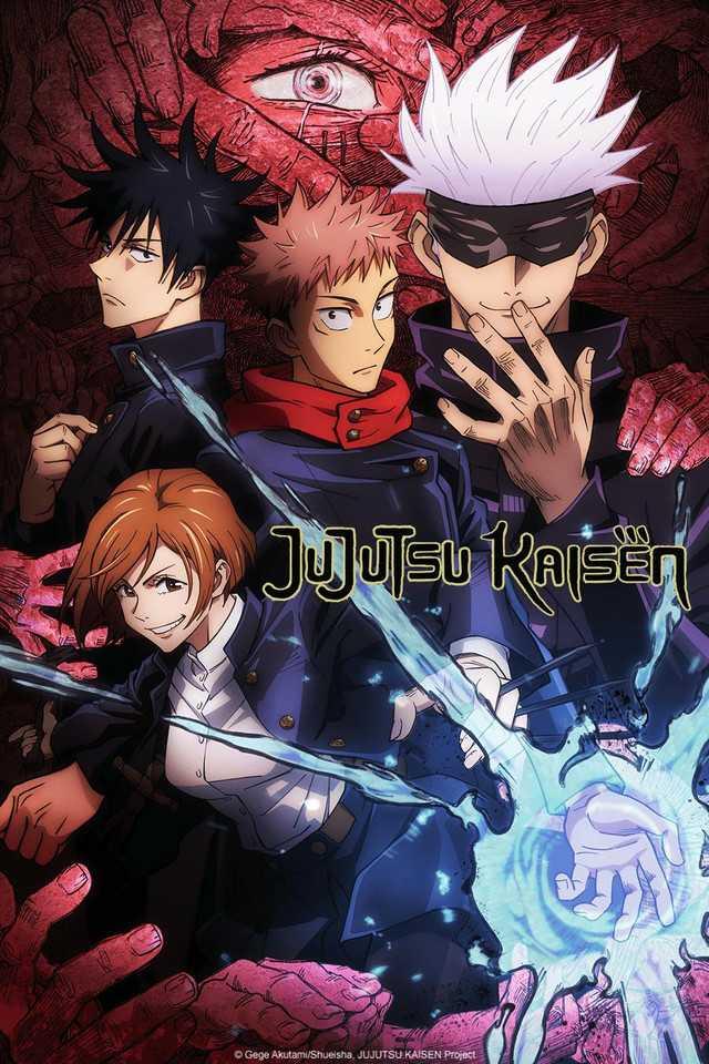 Jujutsu Kaisen Series Visual