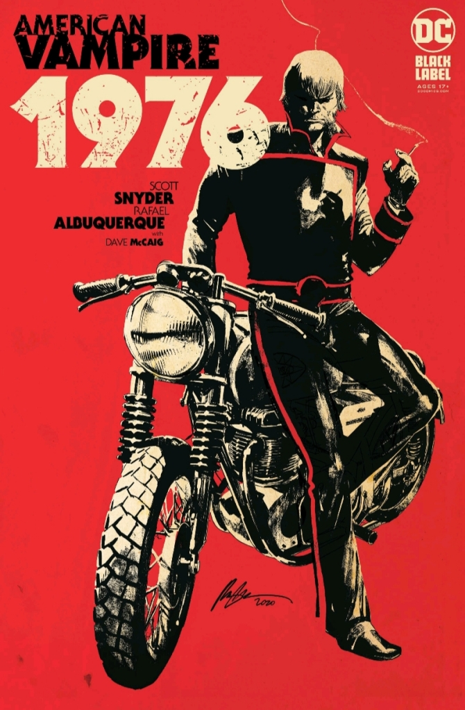 American Vampire 1976 #1 Cover