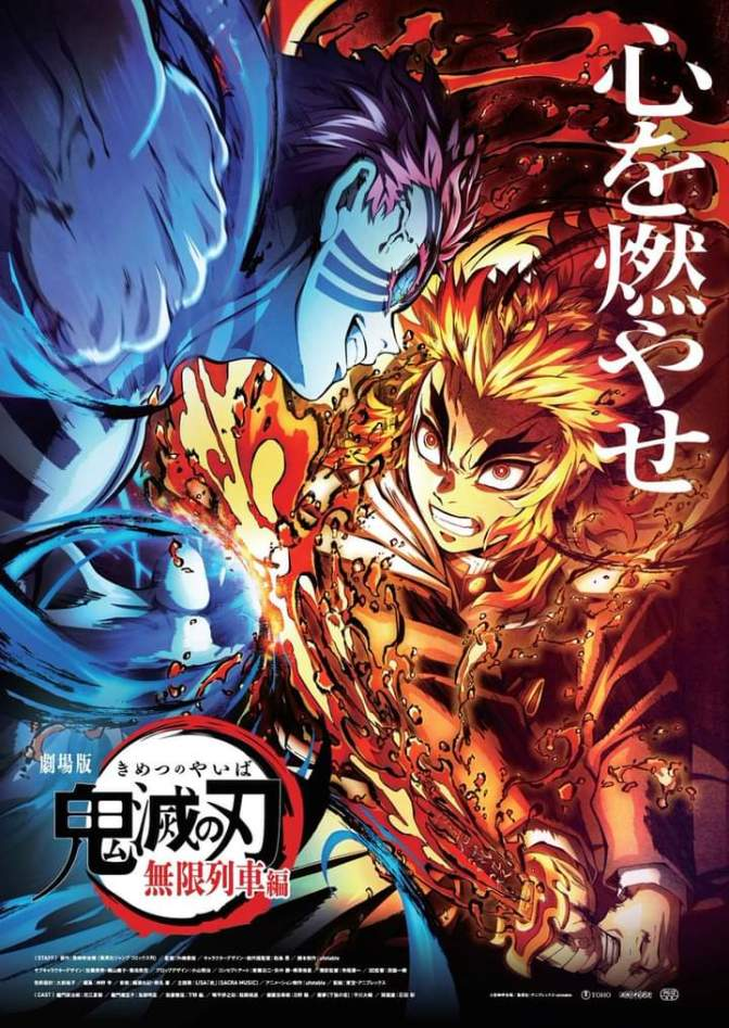 Demon Slayer: Kimetsu no Yaiba The Mugen Train Final Promotional Visual