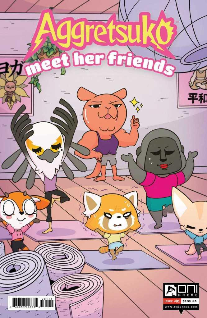 "Aggretsuko ""Meet her friends"" #1 Cover"