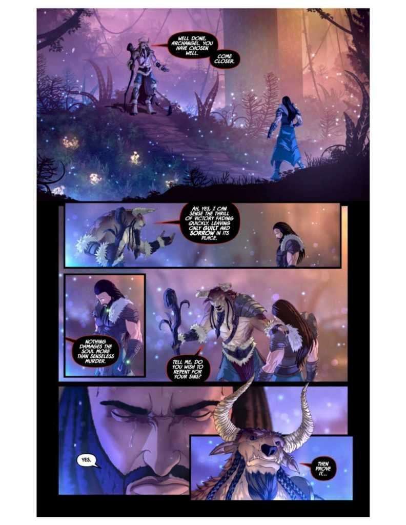 Knights of the Golden Sun Issue #8 Preview Page Two