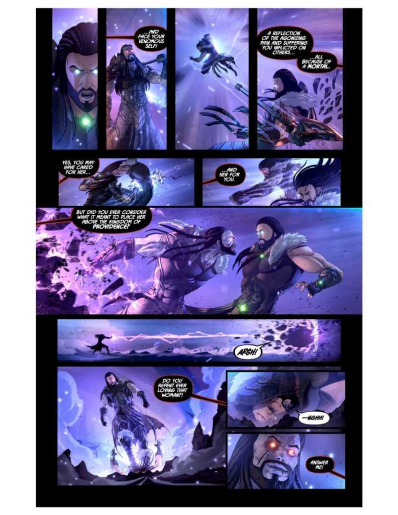 Knights of the Golden Sun Issue #8 Preview Page Three