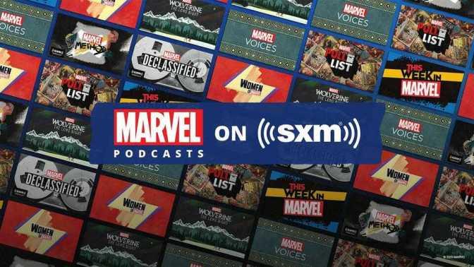 Marvel on SiriusXM Logo