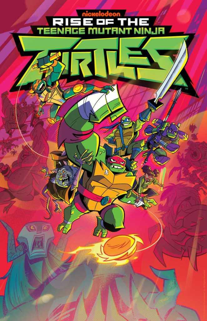 Rise of the Teenage Mutant Ninja Turtles Promotional Image